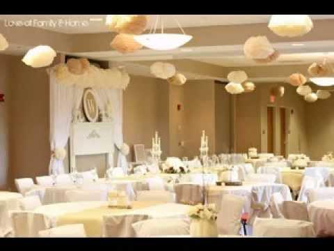 Golden wedding decor ideas youtube golden wedding decor ideas junglespirit Images