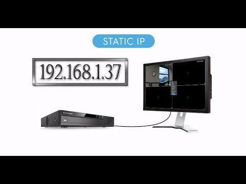 How to Set up Static IP Address on Amcrest IP Cameras, NVRs, and DVRs