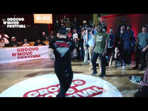 GROOVE'N'MOVE BATTLE 2017 - Poppin Final / Prince vs Poppin C