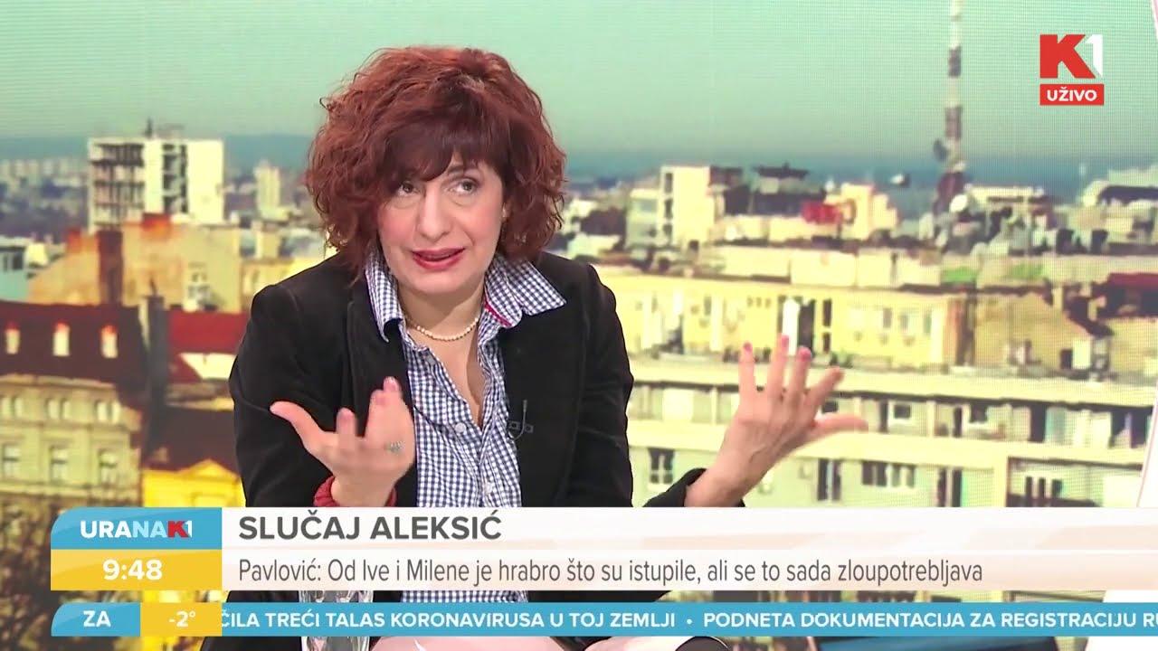 Skandal u emisiji: Glumica branila Miku Aleksića