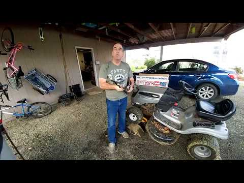 Changing Mower Blades   FunnyCat TV