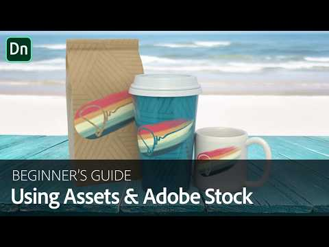 Using Assets and 3D Stock in Dimension | Adobe Creative Cloud