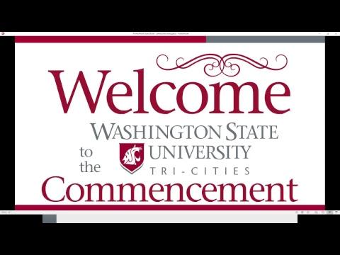 WSU Tri-Cities Commencement Live Stream