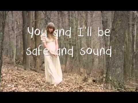 Taylor Swift- Safe And Sound Lyrics