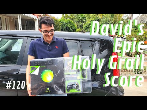 Video Game Hunting Live#120 David's Epic Holy Grail Score