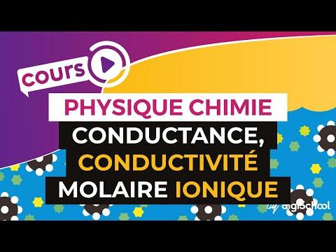 Conductance, conductivité molaire ionique - Physique-Chimie - TS - digiSchool