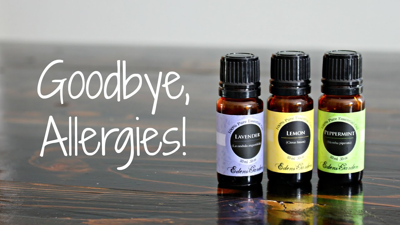 5 Ways to Use Essential Oils for Allergies YouTube