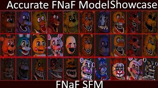 Most Accurate FNaF SFM Models (July 2017/Outdated, Watch 2018 ver.)
