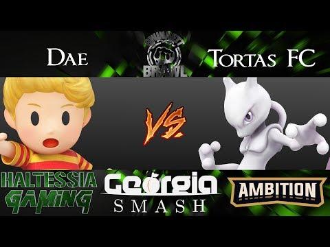 Gwinnett Brawl 48 Smash 4 Singles Tortas FC (Mewtwo) vs Dae (Lucas, ZSS)