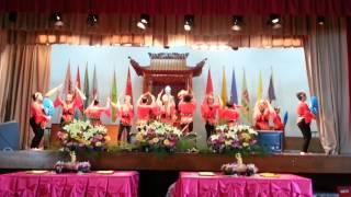 25.5.2014 屯門釋慧文中學 佛青舞蹈組 六字真言舞