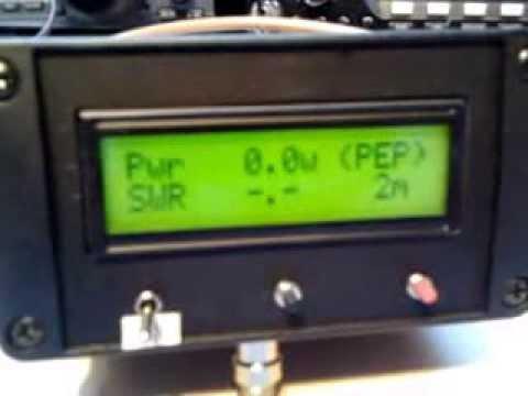 Arduino SWR & POWER meter by ON7EQ