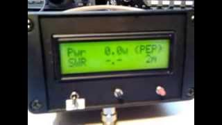 Arduino SWR & POWER meter by ON7EQ
