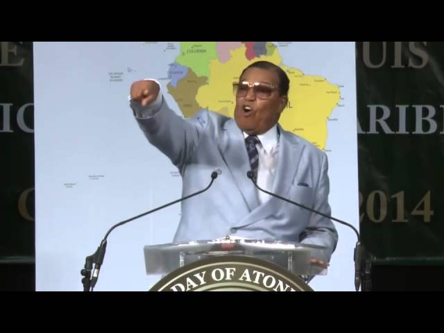 Farrakhan says Ebola is a biological weapon!
