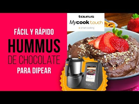 Hummus de Chocolate en MyCook Touch - Receta Fácil para Dipear