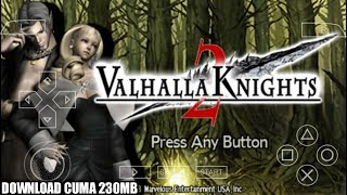 Cara Download Dan Install Game Valhalla Knights 2 PPSSPP Android