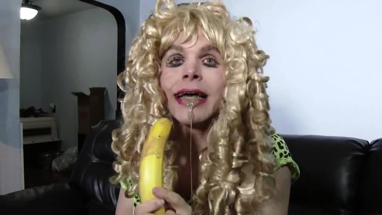 Extremely Hot Girl Eating Banana - Youtube-8305