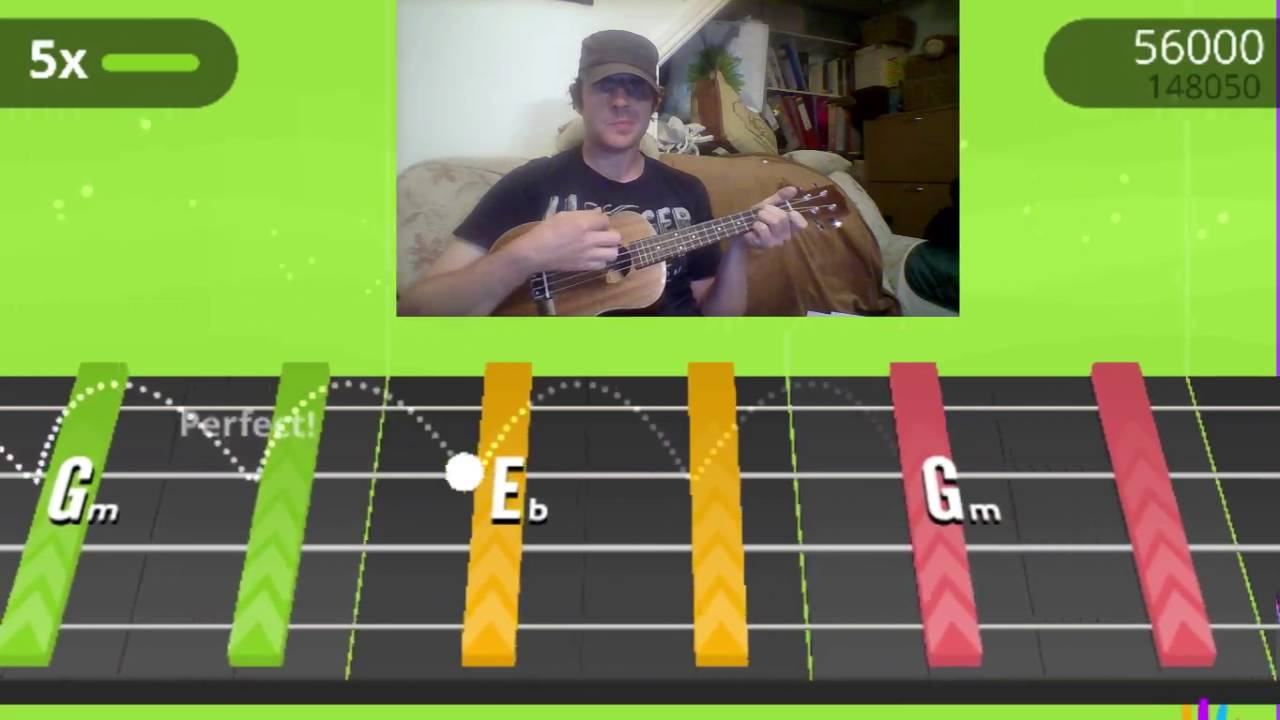 yousician ukulele 39 bring on the riddim 39 challenge run youtube. Black Bedroom Furniture Sets. Home Design Ideas
