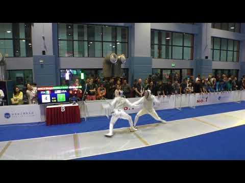 FE 2018 145 T64 29 M F Individual Shanghai CHN GP 8 AVOLA ITA vs KUMBLA USA
