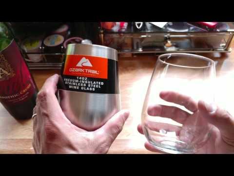 Ozark Trails Vacuum insulated Wine Glass