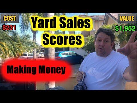 Yard Sale Scores Video Games Trains Books Storage Wars Garage Bargain Hunting Thrift Store