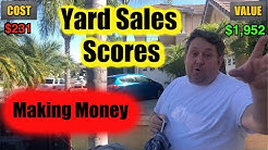 Yard Sale Scores Video Games Trains Books Storage Wars Garage Bargain Hunting Thrift Store