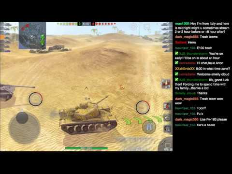 8-14-16 Twitch Stream | World of Tanks Blitz