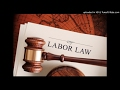Labour Law - Basic conditions of employment act- MRL3702 - - P5 - P8