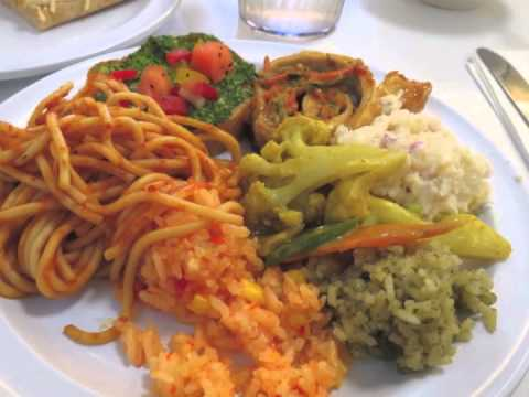 The best vegan food ever at loving hut for transitioning for V kitchen restaurant vegetarian food