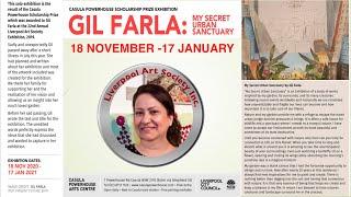 GIL FARLA - MY SECRET URBAN SANCTUARY- Casula Powerhouse Scholarship Prize Winner Exhibition