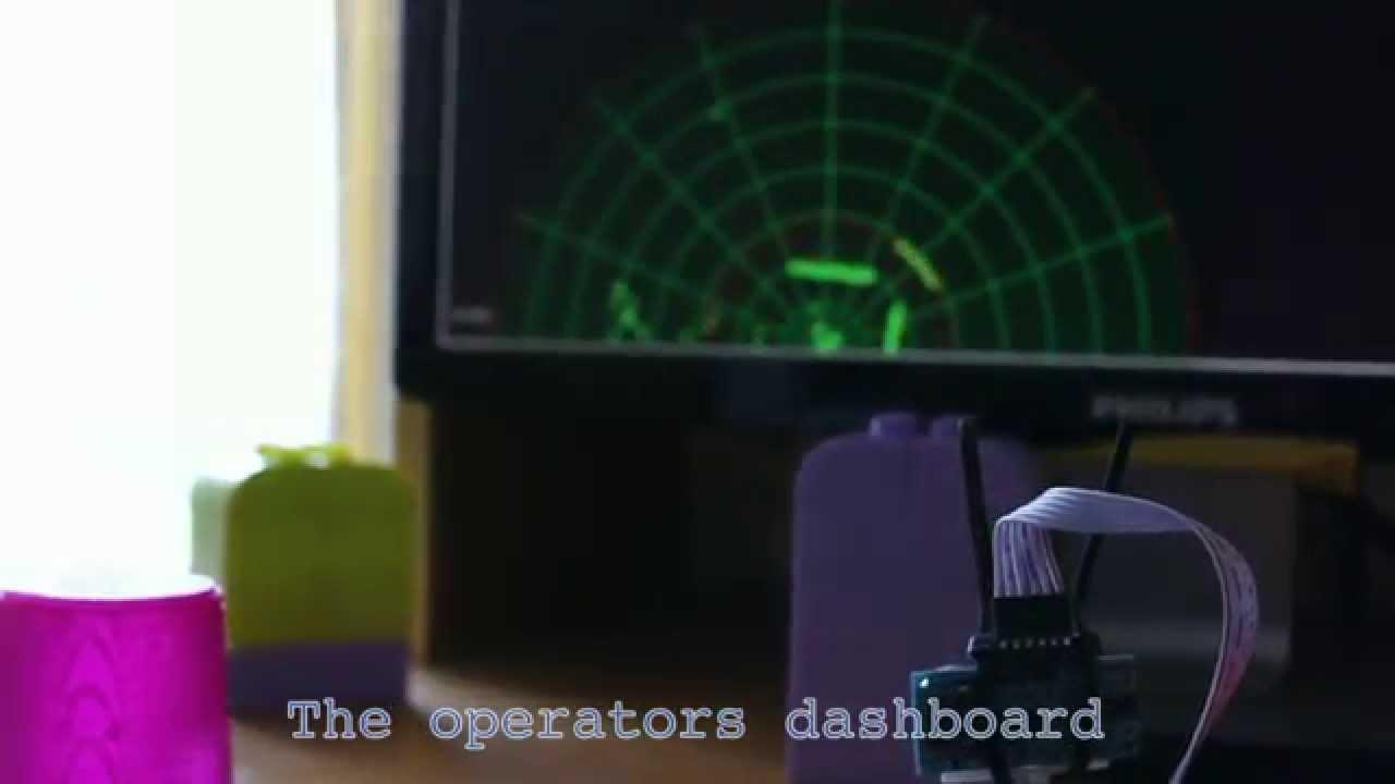 Diy Sonar With A Green Operators Console Youtube Arduino Hobbyistconz