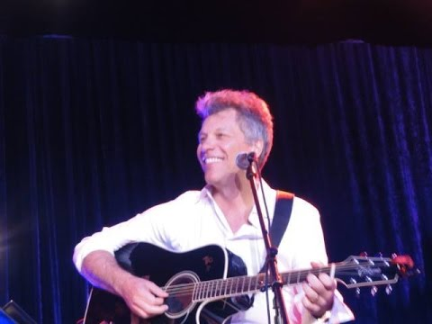 JON BON JOVI - BEAUTIFUL DAY - FINDING NEVERLAND - 2015