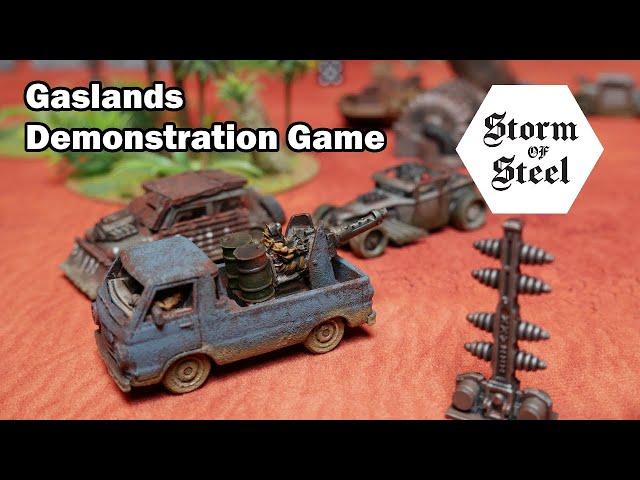 Gaslands Demonstration Game | Storm of Steel Wargaming