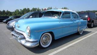 1953 Oldsmobile Rocket 88 Start Up, Exhaust, and In Depth Tour