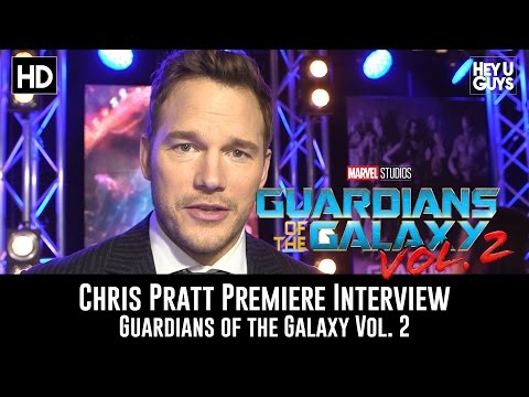 Chris Pratt Premiere Interview - Guardians of the Galaxy Vol. 2