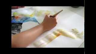 Portrait live painting - Mitra Art