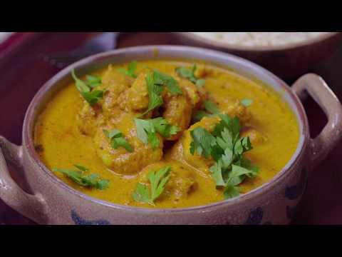 Creamy Shrimp Curry - جمبري بالكاري والكريمة