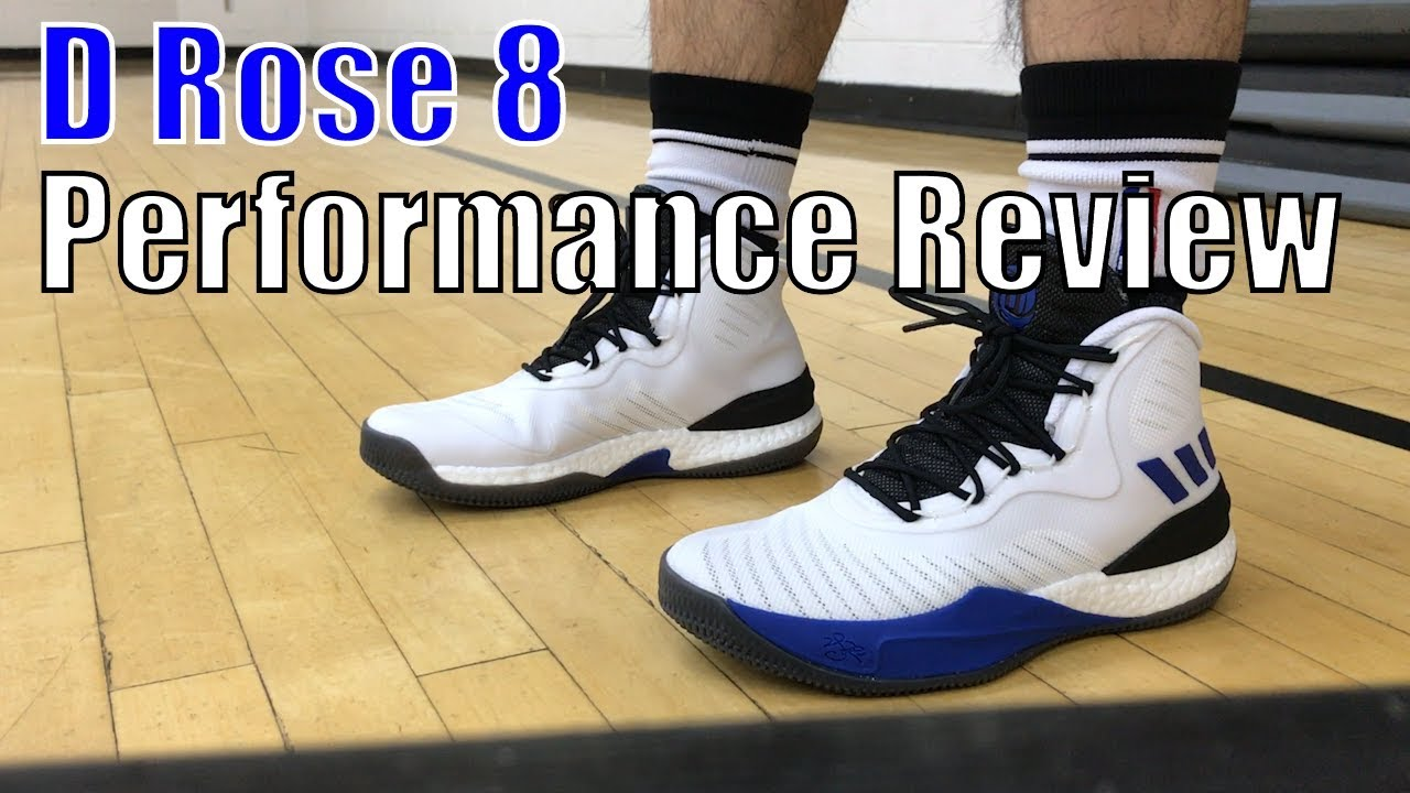 a9c12a5eb630fe ADIDAS D ROSE 8 PERFORMANCE REVIEW - YouTube