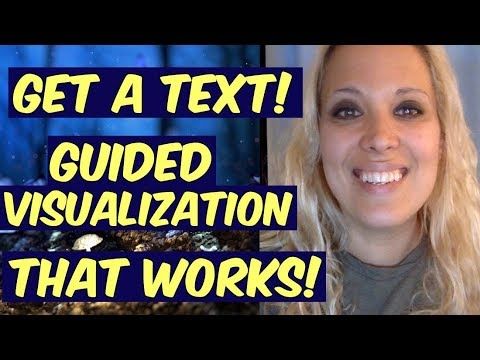 Get a Text - Guided Visualization that can work for any situation! - Law of attraction