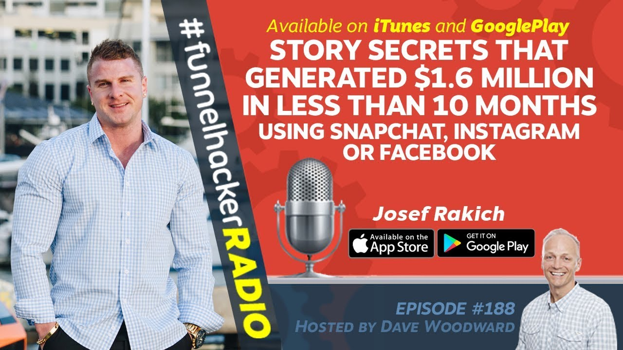 Story Secrets That Generated $1.6 Million In Less Than 10 Months - Josef Rakich - FHR #188