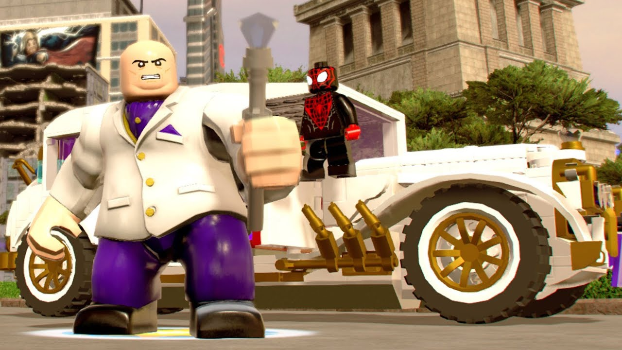 LEGO Marvel Super Heroes 2 - All Playable Vehicles ...