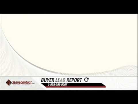 Stone Contact.com Stone Buyer Lead Report 4-20-11