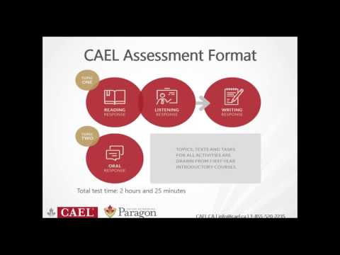 CAEL (Paper Edition) Information Session