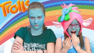 Саша стала синим Троллем!