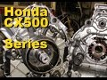 CX500 V twin 4 Stroke Series - Part 3 Removing the cylinder head