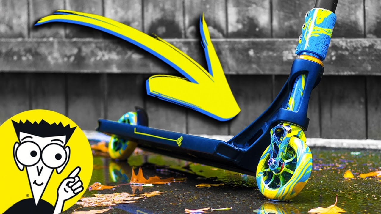 hydro dipping scooters for dummies diy with paint youtube. Black Bedroom Furniture Sets. Home Design Ideas