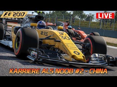 Karriere als Noob #2 [HD] [GER] F1 2017 - GP von China