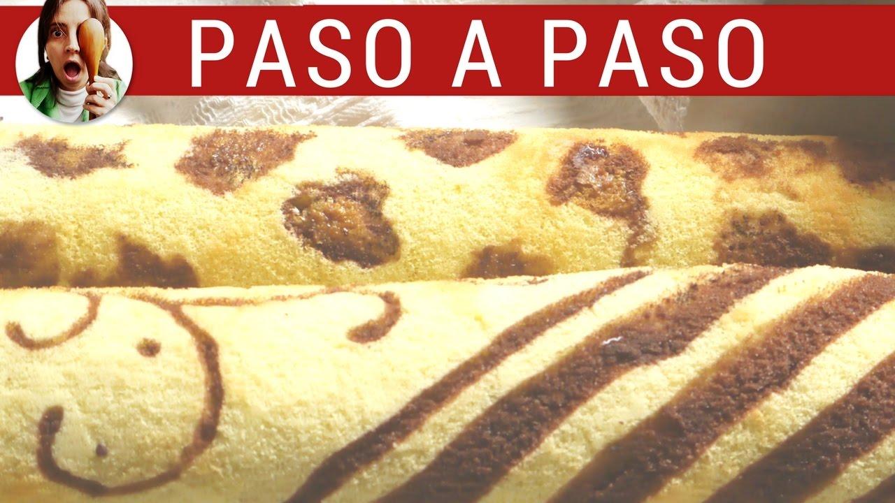 Cómo hacer pionono IMPRESO / Recetas para fiestas - Paulina Cocina