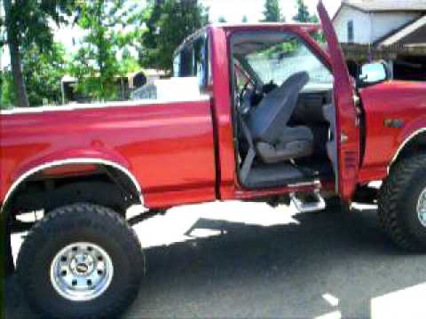 Lifted Ford 4x4 F150 Xlt 1996 5 0 302 V8 9 In Lift