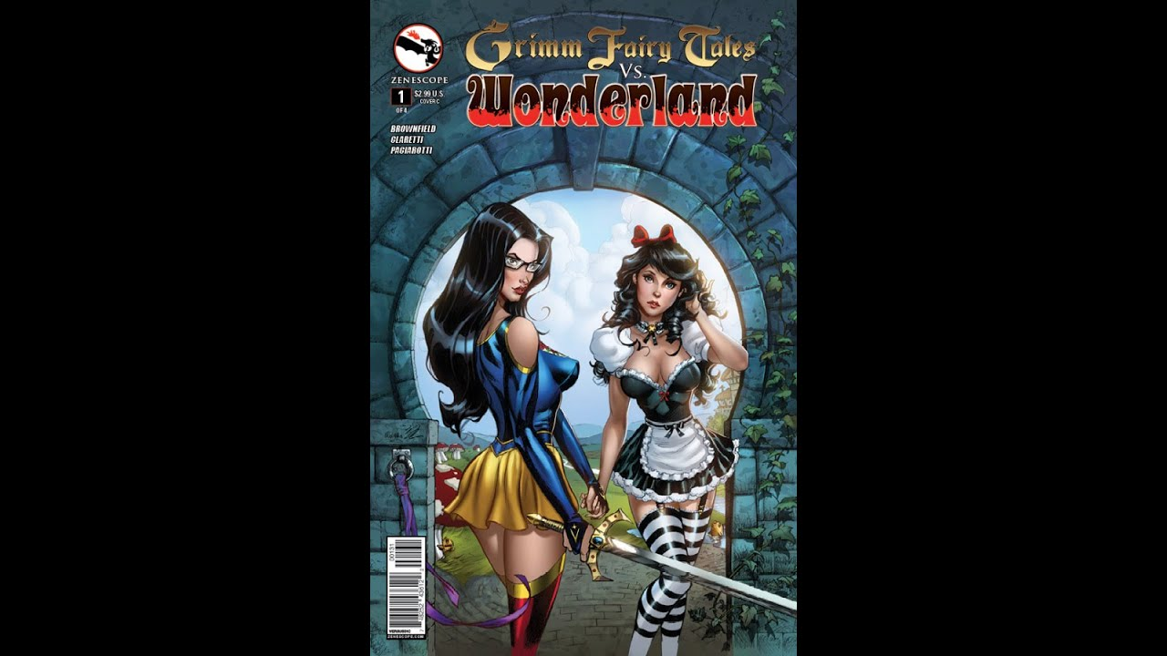 Comic Review Grimm Fairy Tales V S Wonderland 1 Youtube