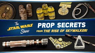 John Williams Props, Leia's Lightsaber, and More from The Rise of Skywalker | The Star Wars Show
